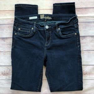 Kut from the Kloth Diana Skinny Dark Blue Jeans 6